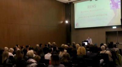 Predavanje za pediatre in stomatologe v Skopju, predavatelj Zoran Dernovček (Foto: posnetek zaslona)