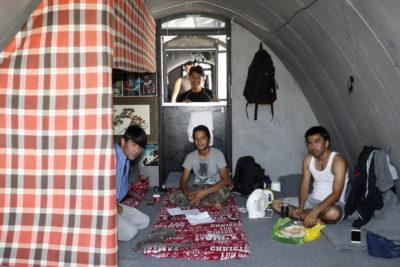 Kamp za migrante na otoku Lezbos (Foto: epa)