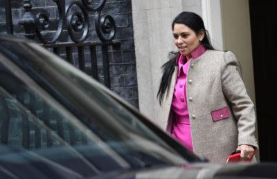Priti Patel, britanska notranja ministrica (Foto. epa)