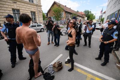 kulturniki protest 1