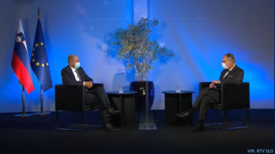 Pogovor s predsednikom vlade RTV