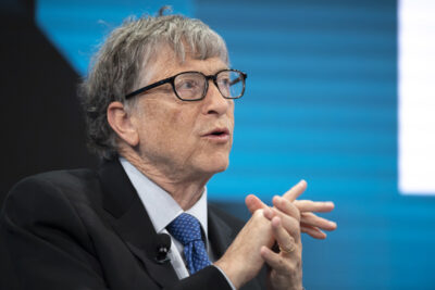 Ameriski programer in poslovnez Bill Gates 2