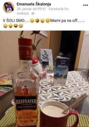 Skalonja pije LMS
