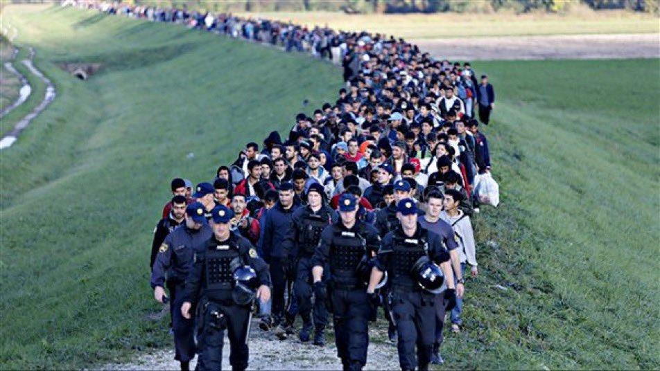 Migranti Twitter