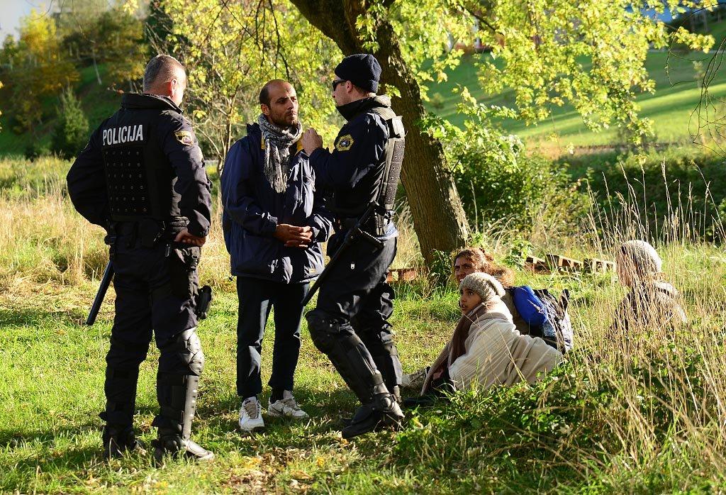 Migranti Ilegalci FOTO POLICIJA
